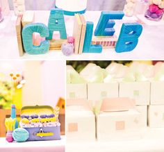 Oh, the Places You'll Go! {Modern Dr. Seuss 1st Birthday} // Hostess with the Mostess®