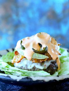 Keto Sheet Pan Burgers with Bacon and Jalapeños.Keto Sheet Pan Burgers with Bacon and Jalapeños. Ketogenic Recipes, Low Carb Recipes, Ketogenic Diet, Free Recipes, Healthy Recipes, All You Need Is, Pan Burgers, Keto Burger, Bunless Burger