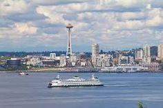 seattle skyline & ferry wallpaper - Google Search