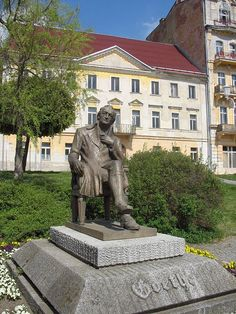Goethe in Marienbad, Tsjechië.