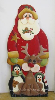 New Craft Wood Projects Christmas Ideas Wooden Christmas Crafts, Santa Crafts, Christmas Porch, Christmas Sewing, New Crafts, Country Christmas, Christmas Art, Christmas Projects, Holiday Crafts