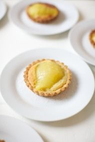 Pear & Almond Tart from Cook's Atelier + Emily Johnston Anderson Photography - Style Me Pretty Living