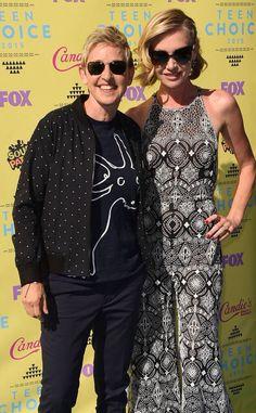 Ellen n Portia #TeenChoiceAwards2015