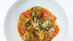 Turkey-Spinach Meatballs Recipe | Bon Appetit