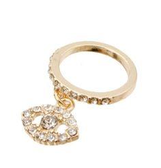 FabuLyss - Evil Eye Midi Ring, $12.00 (http://www.fabulyss.com/evil-eye-midi-ring/)