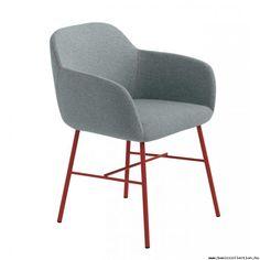 Miranda armchair #basiccollection #armchair #color #upholstered #metalframe #design #furniture #horeca #style