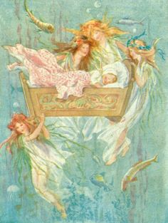 The Water Babies by Charles Kingsley, 1908   Margaret W. Tarrant