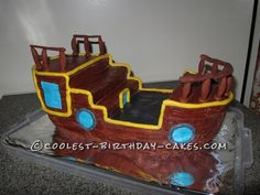 Coolest Bucky from Jake and the Neverland Birthday Cake ... This website is the Pinterest of birthday cakes