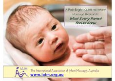 infant-massage-guide-for-parents by Ruby Tuesday via Slideshare