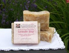 Lavender Hand-milled Soap, handcrafted, all natural, vegan friendly, cruelty free