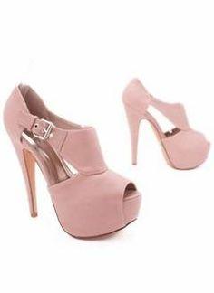 #Pink platform pump.