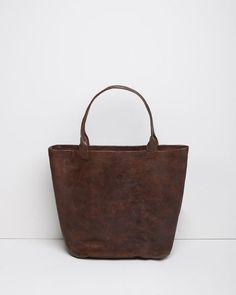 Le Vestiaire de Jeanne | Leather+Basket+Bag | La Garçonne