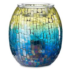 Shop the collection of classic Scentsy wax warmers. These are flameless candle burner that melt our Scentsy wax bars with a light bulb, for fresh home fragrance you'll love best! Scentsy Wax Melts, Scentsy Wax Warmer, Candle Burner, Colored Light Bulbs, Electric Wax Warmer, Wax Warmers, Scented Wax, Mosaic Designs, Home Fragrances