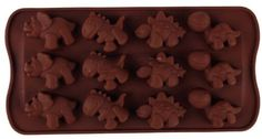 Dinosaur mold for some things we like to make in the kitchen.   Amazon.com - niceEshop(TM) Silicone Chocolate Dinosaur Mold Mould-Chocolate