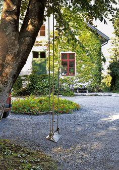 A Swedish artist's home in a former school house | my scandinavian home | Bloglovin'