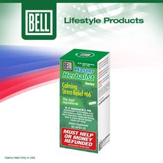 Bell Calming Stress Relief uses a combination of herbs, minerals, and the neurotransmitter GABA (gamma-amino butyric acid) to take the edge off with the power of nature. Learn more about Bell Calming Stress Relief on our website today. http://www.belllifestyleproducts.com/66-calmingchronicstress.htm