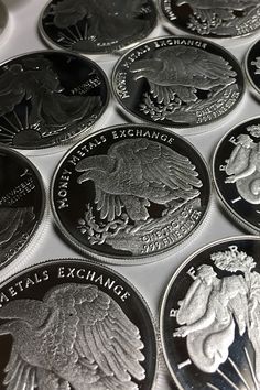Money Metals Exchange is pleased to offer its proprietary fine 1 ounce Walking Liberty silver round at low premiums. These uncirculated silver rounds are considered to be one of the most beautiful 1 oz silver round designs. Old Silver Coins, Coin Prices, Silver Bullion, Round Design, Dollar Coin, Half Dollar, Silver Rounds, Design Model, Precious Metals