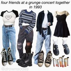 You are in the right place about grunge goth makeup Here we offer you the most beautiful pictures ab Retro Outfits, Vintage Outfits, Edgy Outfits, Mode Outfits, Cute Casual Outfits, Simple Outfits, Fashion Outfits, Soft Grunge Outfits, Fashion Boots