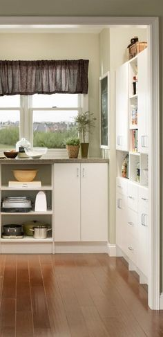Outstanding kitchen pantry shelving for your home pantry Kitchen Themes, Kitchen Layout, Kitchen Ideas, Kitchen Decor, Simple Kitchen Design, Best Kitchen Designs, Kitchen Pantry, Kitchen Living, Pantry Inspiration