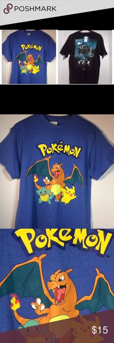 ‼️3 Day Sale‼️ TWO shirts for the price of ONE. They are the same size both are in great condition. This sale will be for ONLY 3 days so don't waste time. Save money on brands you love. These shirts are for any Harry Potter and Pokémon. Both of these shirts can be worn anytime anywhere. And they go with anything you already have in you collection. Both of these items are sold together for ⚠️$15⚠️ that's a steal no one else could beat. Helping out those who want more to their collection for…