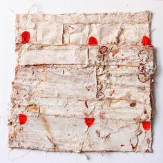 Sati Zech Bollenarbeit no. 267, 2014, oil, canvas, 33 x 33 cm, (13 x 13 inches)