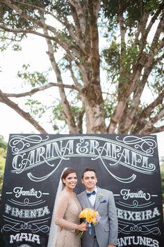 Casamento vintage elegante