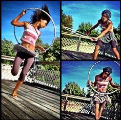 Hoopdancing by ME! Ebonie Hoops :)