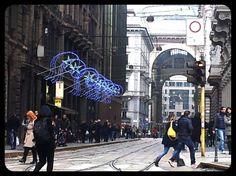 Luci natalizie a Milano