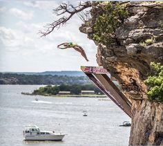 Red Bull Cliff Diving 2016: Etapa do Texas com vencedores inesperados