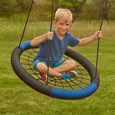 Swing-N-Slide Monster Web Swing - Swing Set Accessories at Hayneedle