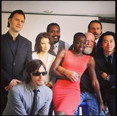 The Walking Dead Cast!