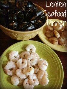 Lenten Seafood Dinner