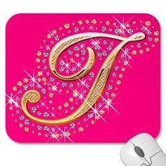 Get your hands on a customizable Golden postcard from Zazzle. Find a large selection of sizes and shapes for your postcard needs! Initials, Diamonds, Shapes, Make It Yourself, Mousepad, Pink, Design, Alphabet, Gold