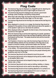Ideas American History Timeline Printable Civil Wars For 2019 History Timeline, Us History, History Facts, American Heritage Girls, American History, American Flag Rules, Us Flag Code, Memorial Day, Illinois