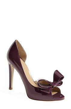 Valentino Couture Bow D'Orsay Pump http://rstyle.me/n/swwiinyg6