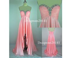 Coral evening dressesBridal gownsParty by DressProm20141 on Etsy, $139.00