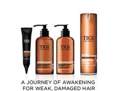 TIGI HAir Reborn l'arte della tecnologia Hyper-Distillation in esclusiva da Uoma parrucchieri