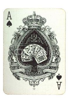 Pik Ass, ace of spades, card, Karte, Fotolia