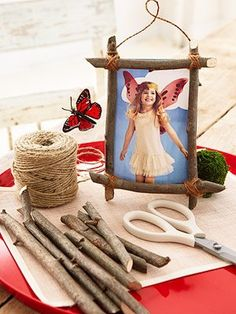 Natural Crafts Tutorials: Great Twig Crafts for Kids