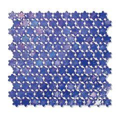 #Sicis #Neoglass Petites Fleurs F11 Gentian | Muranoglass | im Angebot auf #bad39.de 391 Euro/Pckg. | #Mosaik #Bad #Küche