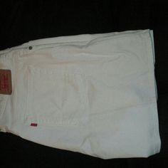 Levi shorts White shorts size 14m Shorts Jean Shorts