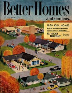 """""""Better Homes and Gardens"""" Cover September 1959"""