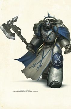 Chapter Master of the Astral Knights