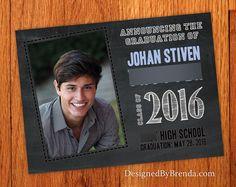 graduation announcement postcards