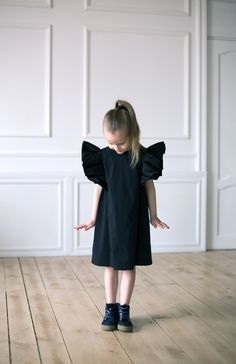 d5d254aafd Excited to share the latest addition to my  etsy shop  Black dress for girls