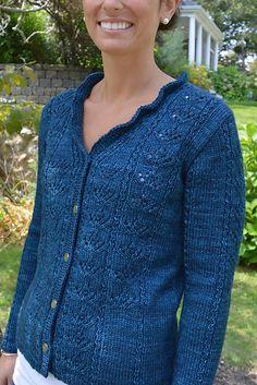 Ravelry: Meadowbrook Cardigan pattern by Valerie Hobbs