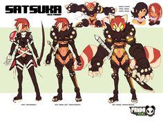 PG: Satsuka by endshark