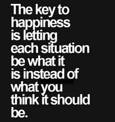 The key...