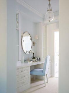 Built in Bathroom Vanities MAKEUP | built in vanity | Home - Bath
