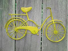 Metal Bicycle Wall Decor bicycle art, metal wall art, metal bike, modern wall art, wall art